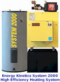 Energy Kinetics System 2000 High Efficiency Heating System